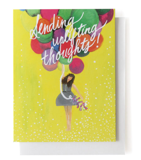 Thimblepress - Sending Uplifting Thoughts Single Card