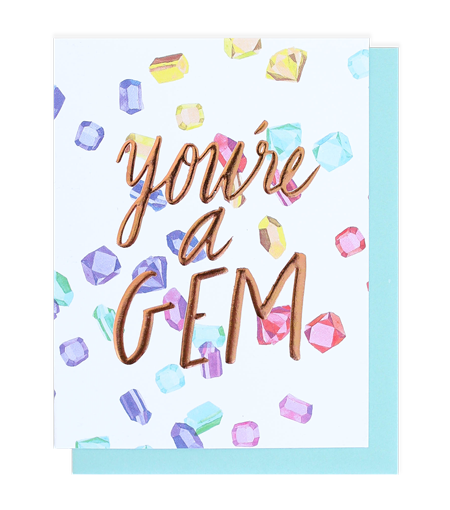Thimblepress - You're A Gem Single Card