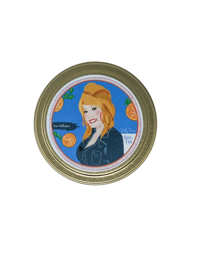 Dolly Tin Candle