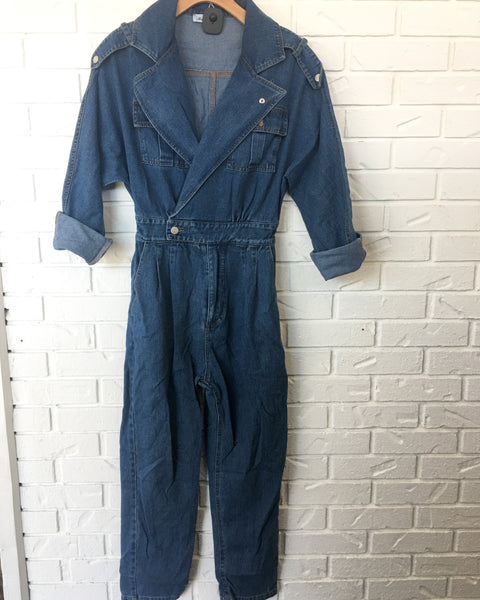 The Denim Jumpsuit