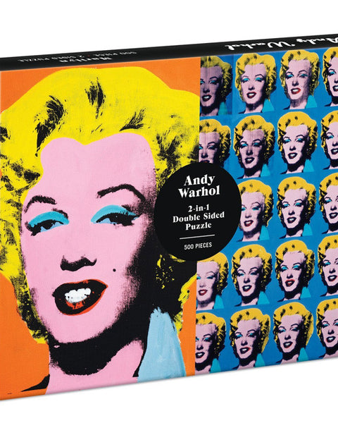 Andy Warhol 2 Sided Marilyn Puzzle
