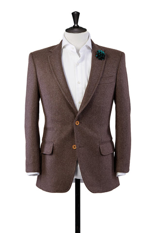 Lucca Brown Sports Jacket