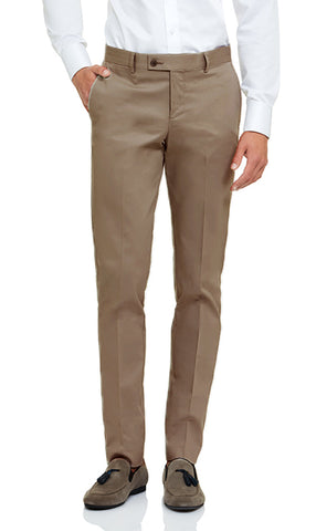 Japanese Stretch Cotton Pant - Sand