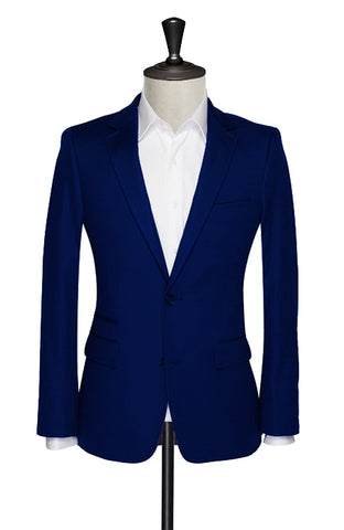 Lucca Navy Blue Sports Jacket