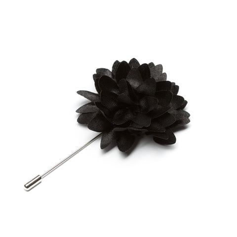 Black Lapel Pin
