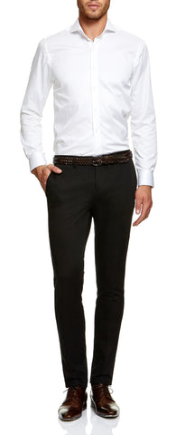 Regent White Supertwill Shirt
