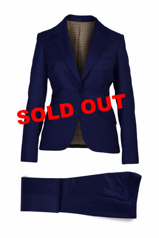 Valerie Superfine Wool Navy Suit