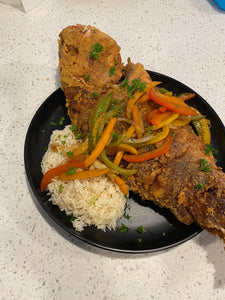 Fried Red Snapper Escovitch