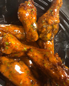 Hot Hennessy Wings