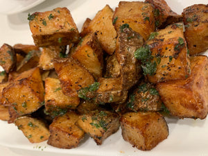 Broasted Garlic Butter Potatoes