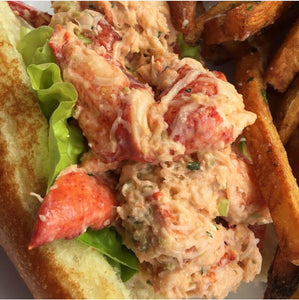 Butter Poached Lobster Roll w/ Aioli Sauce Recipe