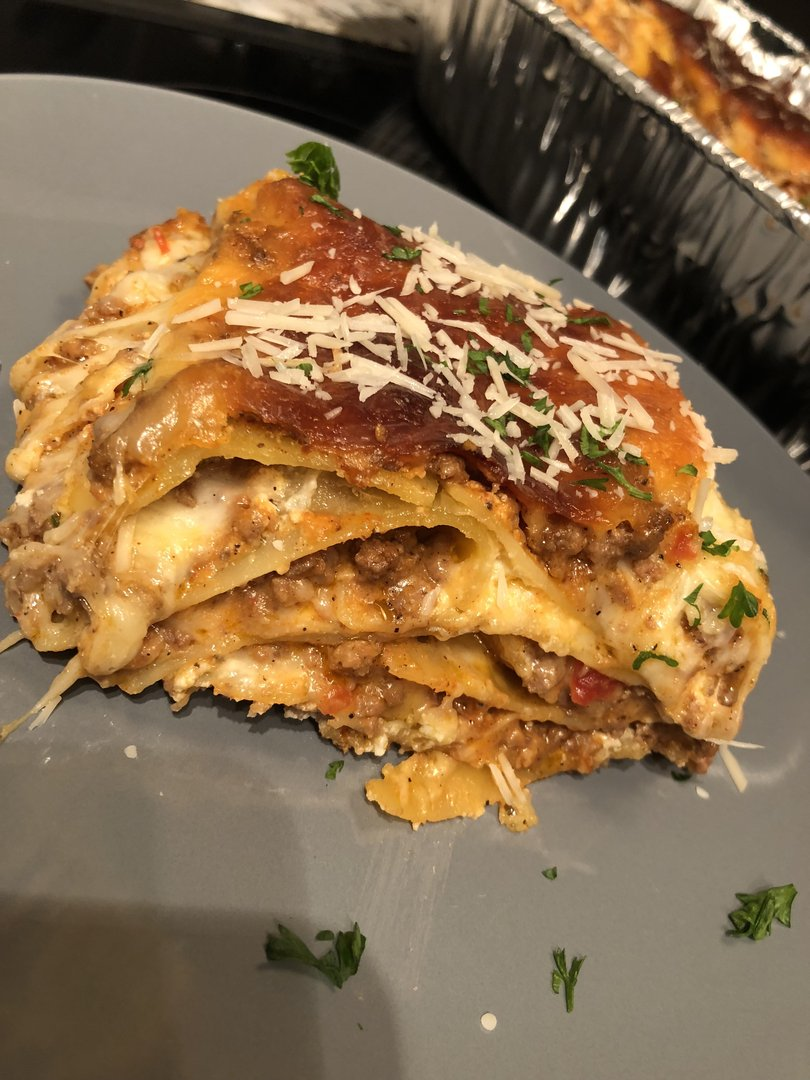 Beef Lasagna w/ Vodka Sauce Recipe