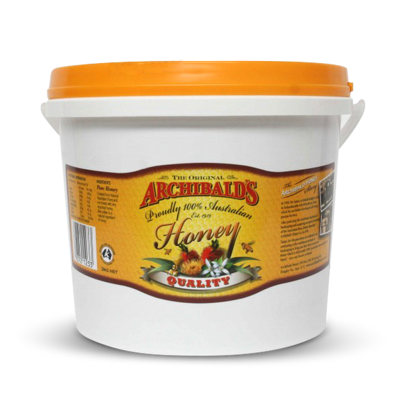 Archibald's Honey Quality 3kg