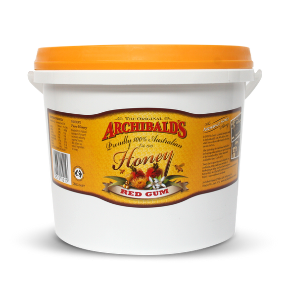 Archibald's Honey Red Gum 3kg