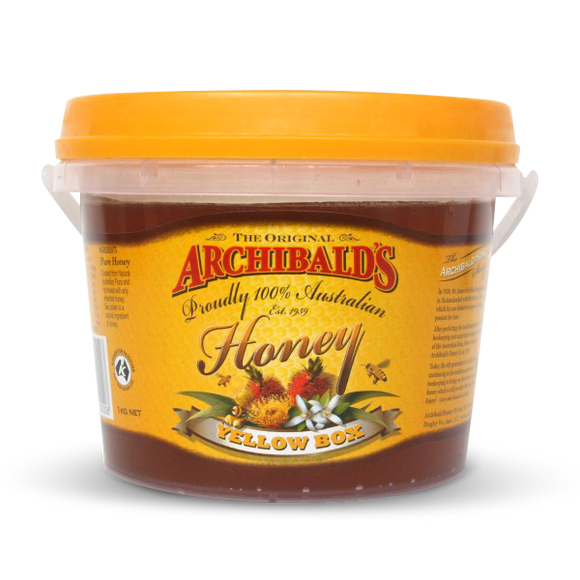 Archibald's Honey Yellow Box 1kg