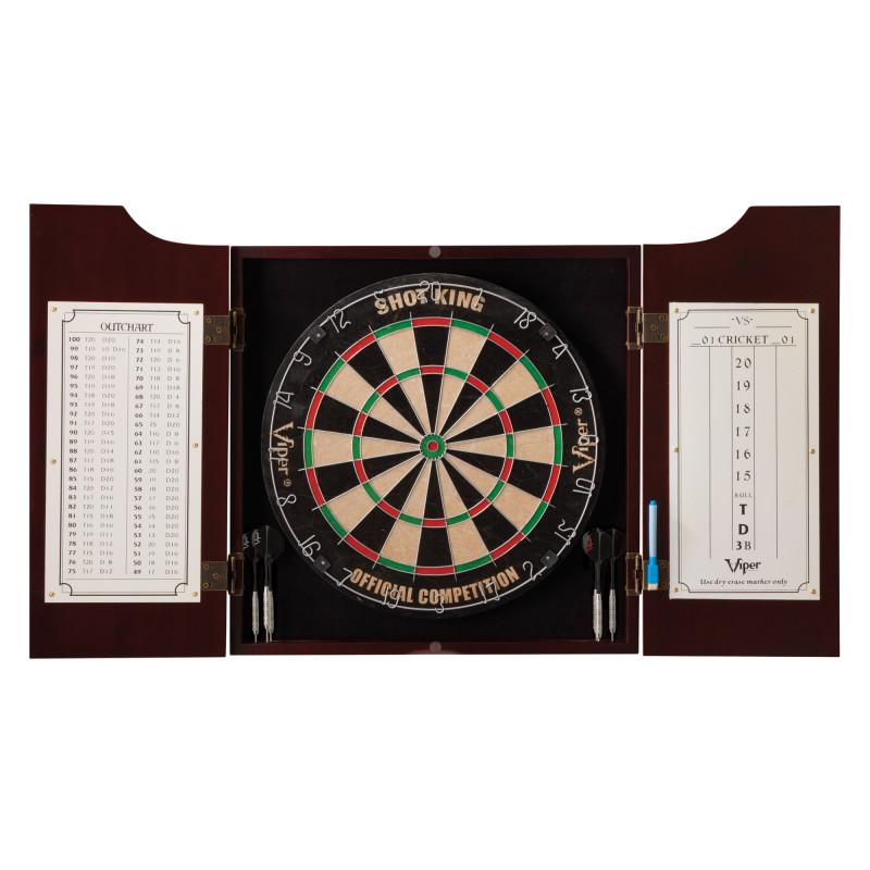 Viper Hudson All-in-One Dart Center, Laser Throw Line & Shadow Buster Dartboard Light Bundle Darts Viper