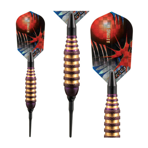Image of Viper Atomic Bee Darts Purple Soft Tip Darts 16 Grams Soft-Tip Darts Viper