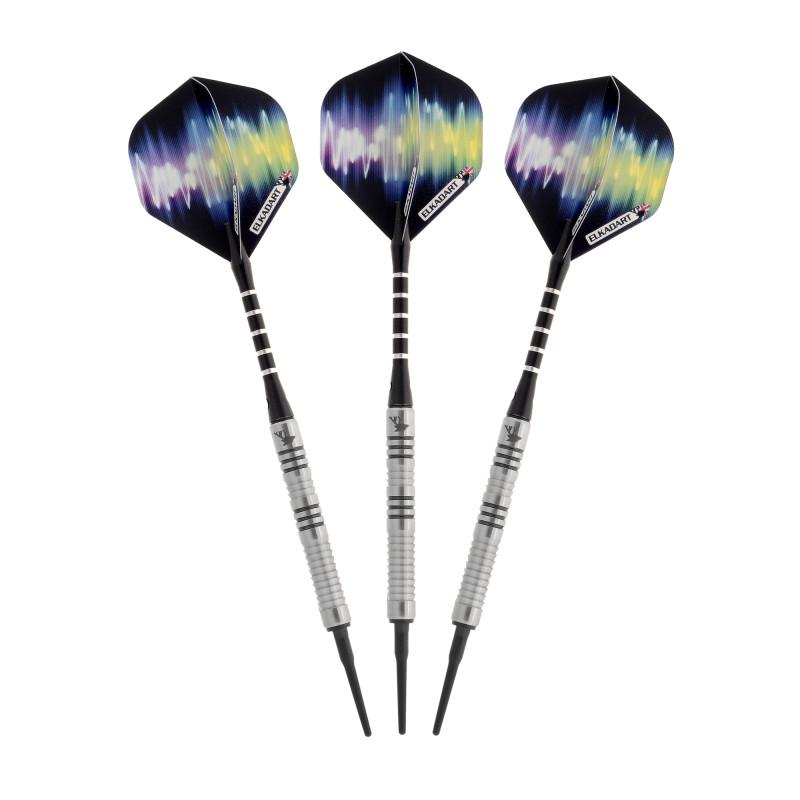 Elkadart Ultra Sonic 80% Tungsten Soft Tip Darts 16 Grams