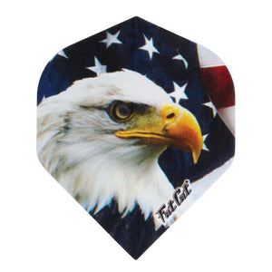 V-75 Poly Royal Hard Flights Support Our Troops Standard Dart Flights Viper