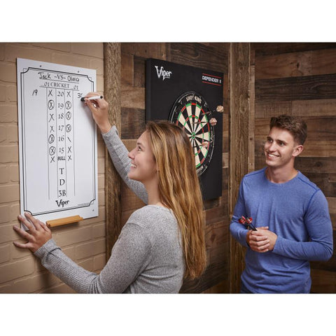 Viper Large Cricket Dry Erase Scoreboard Dartboard Accessories Viper