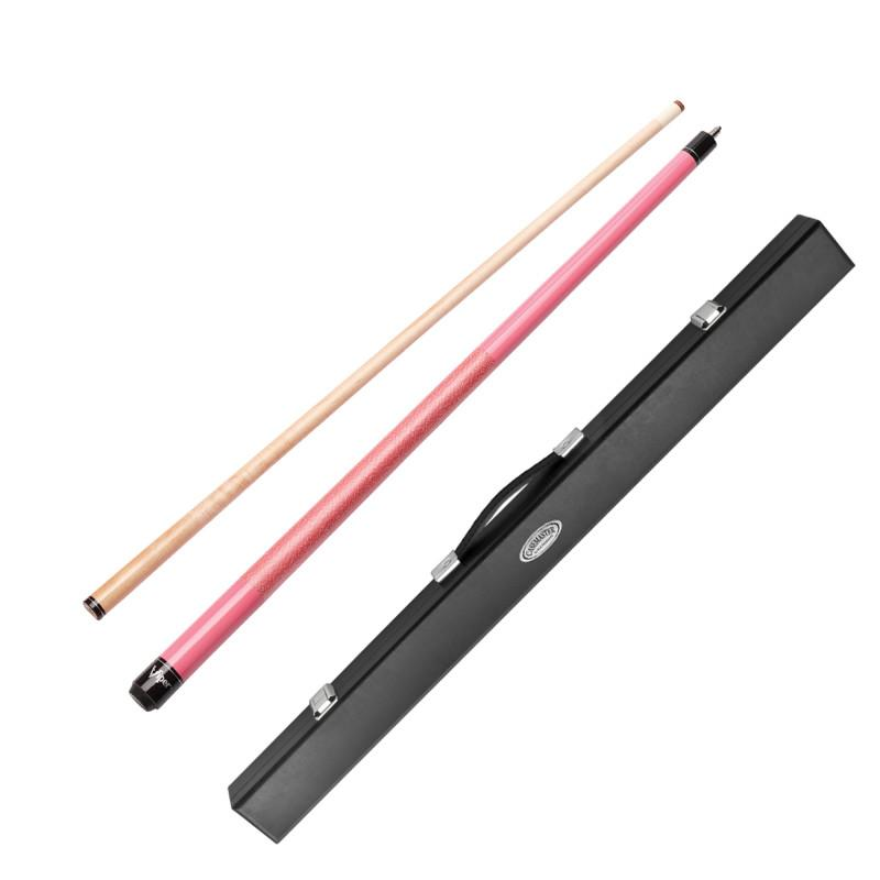 Viper Pink Lady Cue and Casemaster Deluxe Hard Cue Case Billiards Viper