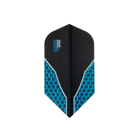V-100 Flights Slim Blue Dart Flights Dart Flights Viper
