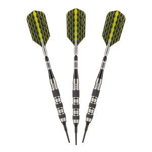 Viper Solar Blast Sisal Dartboard & The Freak 16g Soft Tip Darts