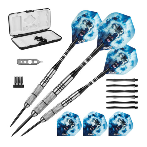 Image of Fat Cat Predator 80% Tungsten Steel Tip Darts 23 Grams Steel-Tip Darts Fat Cat