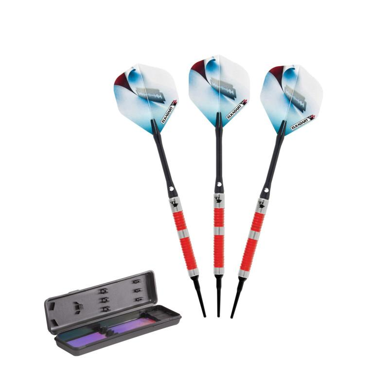 Elkadart Razor Tungsten Soft Tip Darts #1 Barrel Style 18 Grams