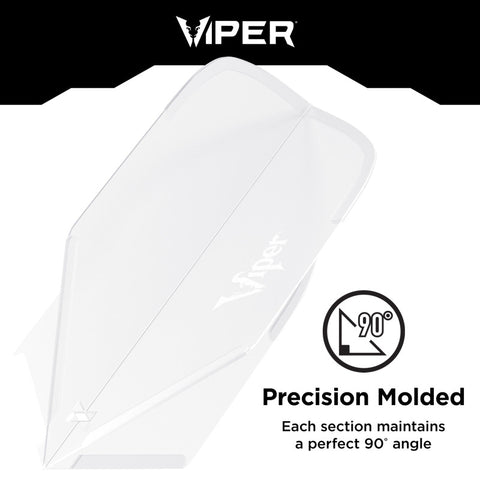 Viper Cool Molded Dart Flights Slim Clear