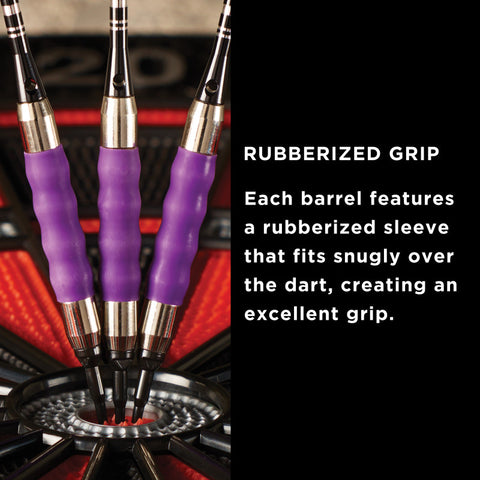 Image of Viper Sure Grip Soft Tip Darts Purple 16 Grams