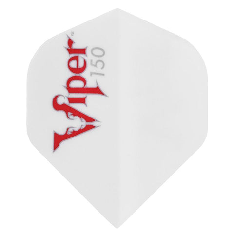 V-150 Flights Standard White Dart Flights Viper