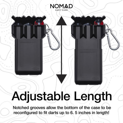 Casemaster Nomad Adjustable Dart Case Black