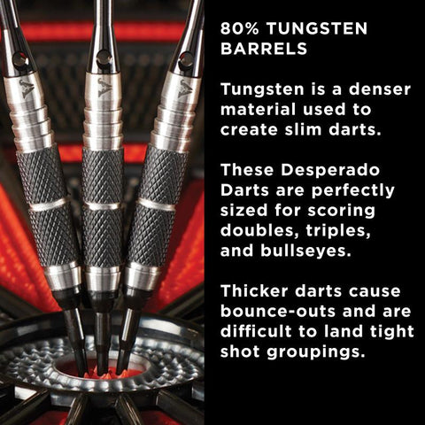 Viper Desperado 80% Tungsten Death Mark Soft Tip Darts 1 Knurled Ring 18 Grams Soft-Tip Darts Viper