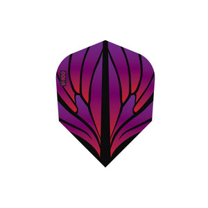 V-100 Wings Flights Standard Pink/Purple Dart Flights Viper