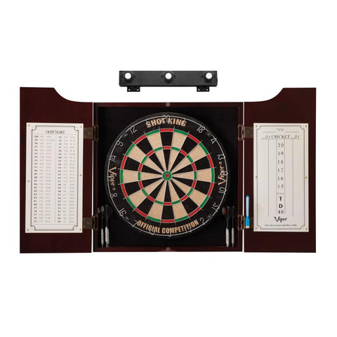 Image of Viper Hudson All-in-One Dart Center & Shadow Buster Dartboard Light Bundle Darts Viper