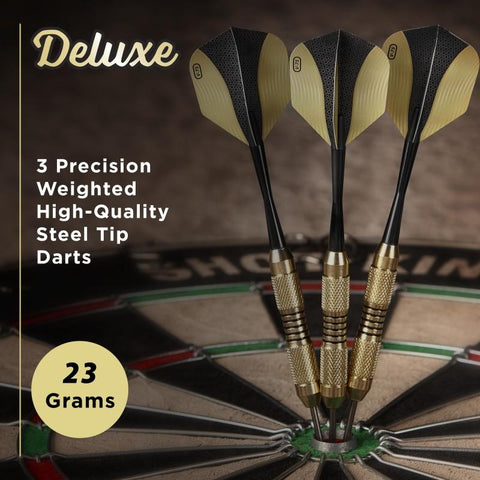 Fat Cat Deluxe Steel Tip Darts 23 Grams Steel-Tip Darts Fat Cat