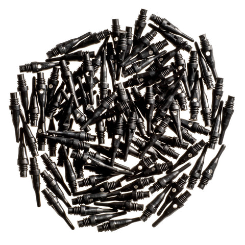 Image of Viper Tufflex Tips SS 2BA Black 100Ct Soft Dart Tips