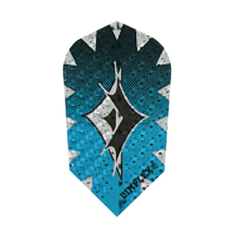 Dimplex Slim Foil Blue Flights Dart Flights Harrows