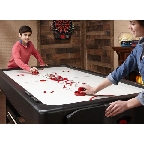 Fat Cat Original 3-in-1 Blue 7' Pockey™ Multi-Game Table Multi-Tables Fat Cat