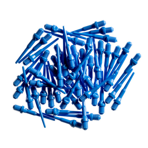 Viper Tufflex Tips II 2BA Blue 50Ct Soft Dart Tips