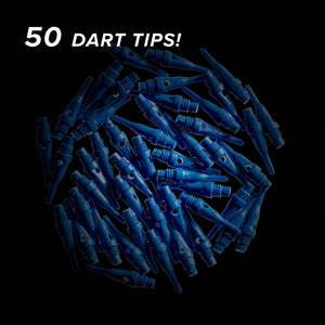 Viper Tufflex Tips SS 2BA Blue 50Ct Soft Dart Tips