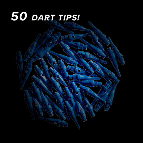 Viper Tufflex Tips SS 2BA Blue 500Ct Soft Dart Tips