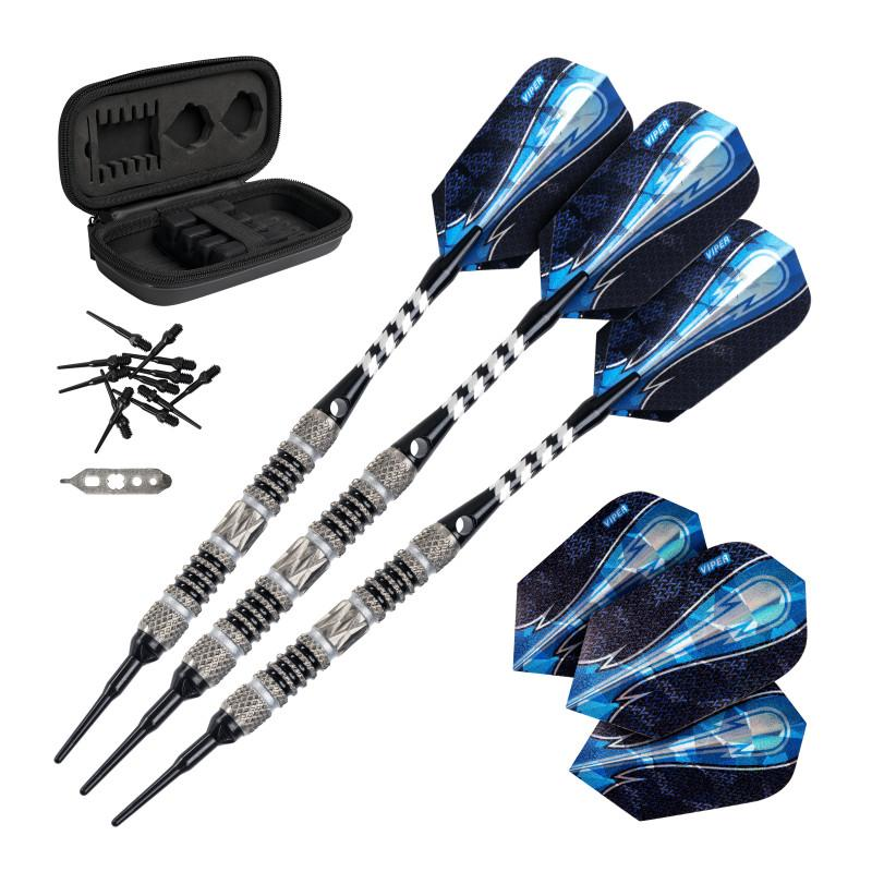 Viper Astro Darts 80% Tungsten Soft Tip Darts Black Rings Soft-Tip Darts Viper