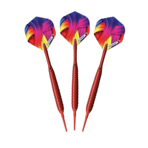 Image of Elkadart Neon Red Soft Tip Darts 18 Grams