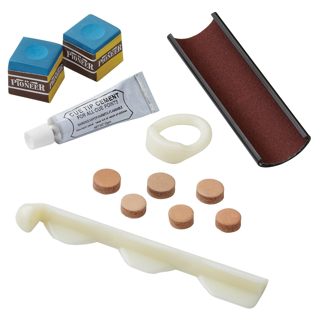 Fat Cat Billiard Cue Replacement and Accessory Kit Billiard Accessories Fat Cat
