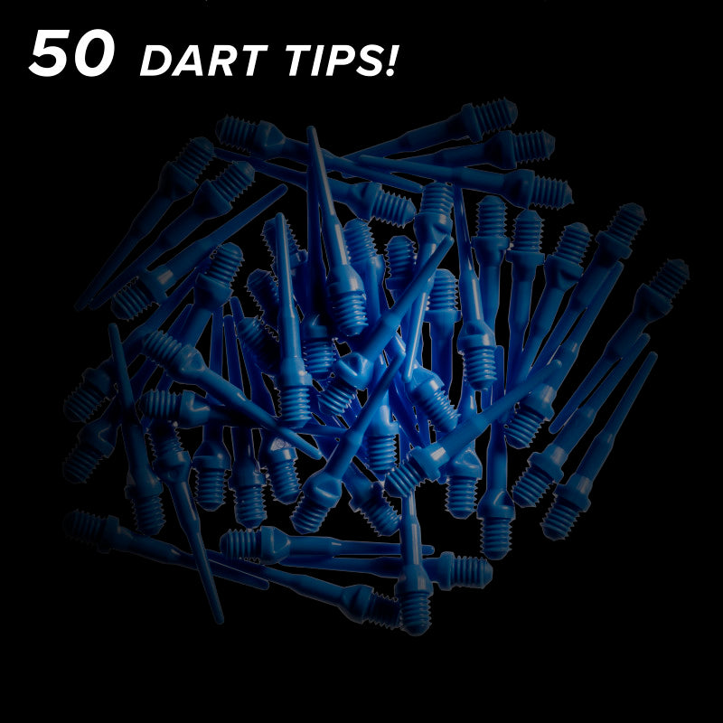 Viper Tufflex Tips II 2BA Blue 50Ct Soft Dart Tips Dart Tips Viper