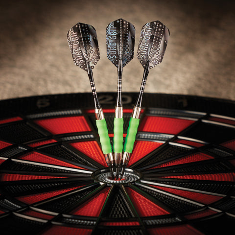 Viper Sure Grip Darts Green Soft Tip Darts