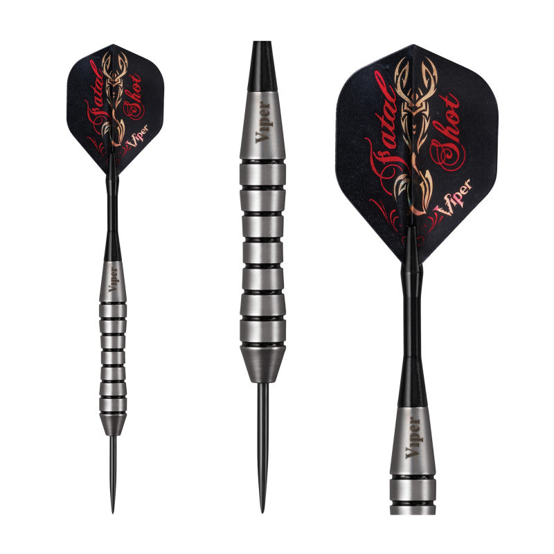 Viper Underground Fatal Shot Darts Steel Tip Darts 24 Grams