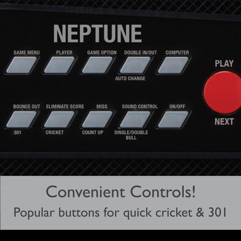 Image of Viper Neptune Electronic Dartboard and Cabinet Hybrid